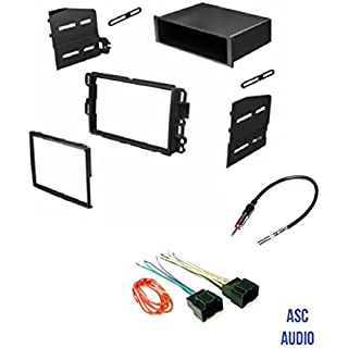 Car Stereo Install Dash Kit Wire Harness and Antenna Adapter to Add Radio for some GM LAN29 Buick Chevrolet GMC Pontiac Saturn.- Basic Wire Won't Work With All Vehicles- See Important Notes Below