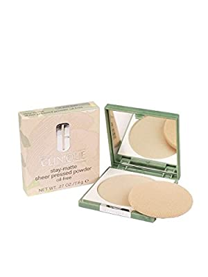 Clinique Stay-Matte Sheer Pressed Powder - Oil-free Formula