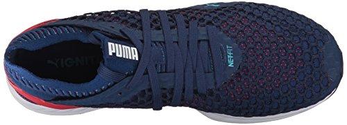 PUMA Mens Ignite Netfit Cross-Trainer-Shoes Blue Depths-toreador FtY5YHC9u
