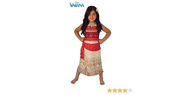 Vaiana - Disfraz Vaiana Deluxe: Amazon.es: Juguetes y juegos