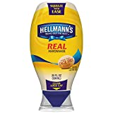 Hellmann s Real Mayonnaise, Squeeze 20 Ounce (Pack of 3)