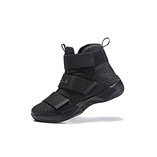 d1a3e60f6063 chic Nike LeBron Soldier 10 Basketball Shoes Black Space ...