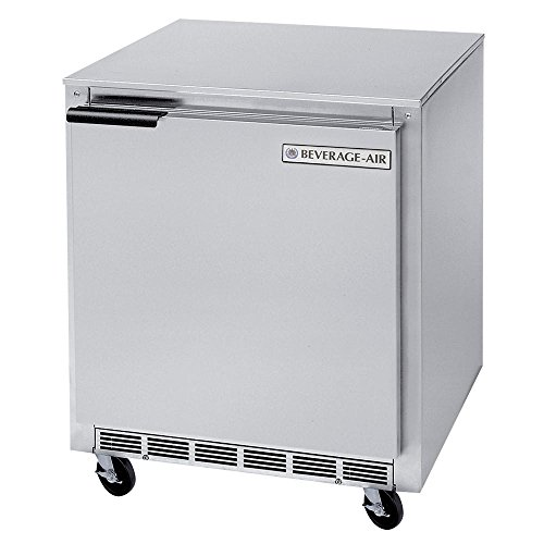 Beverage-Air Commercial Undercounter Refrigerator 27' Ucr27A