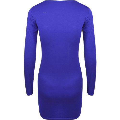 Oromiss - Vestido - para mujer azul real