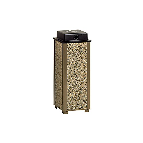 Rubbermaid Commercial Products Dimension 500 Series Urn with Weather Shield (Brown) (Series Weather Urn)