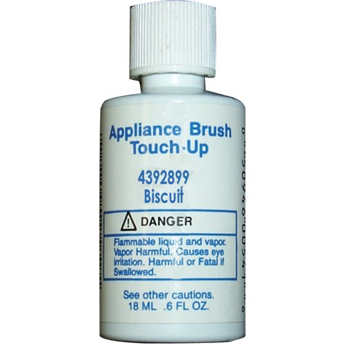 Whirlpool 4392899 Appliance Brush On Touch-Up Paint (Biscuit color) - Brush Appliance Paint
