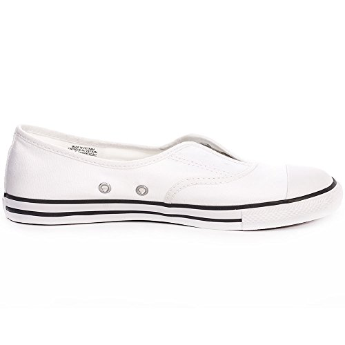 Converse All Star Cove Femme Baskets Mode Blanc