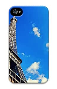 eiffel tower and sky PC Case for iphone 4S/4