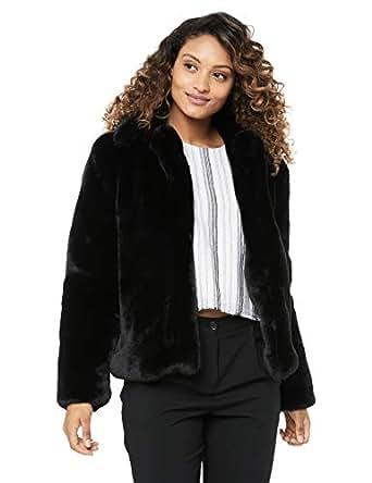 Cooper St Women's Blushing Fur Vest, Black, 10