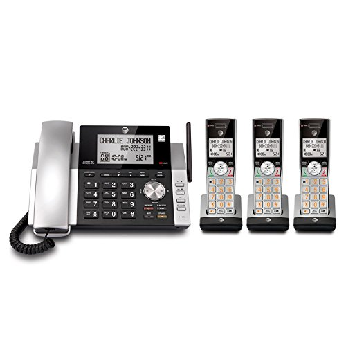 (AT&T CL84365 Corded/Cordless Answering System with Dual Caller ID/Call Waiting)