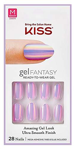 Oval Gel - Kiss MEDIUM OVAL GEL FANTASY Nails