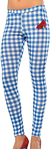 Monkey Costume Wizard Oz (Rubie's Costume Co Women's Wizard Of Oz Dorothy Leggings, Gingham, One Size)