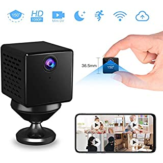 VStarcam 1080p WiFi IP Camera Wireless Pet Camera with Night Vision& Motion Detection Indoor Security Camera Battery Powered Loop Recording Nanny Cam for Pet Baby Monitor
