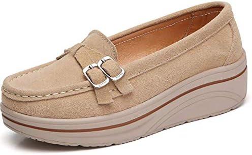 NVXIE Groß - Schuhe, Schuhe MIT Dicken Sohlen einzelne Schuhe.