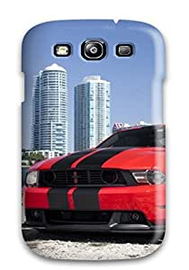 Special Design Back Tunned Red Car On Beach Phone Case Cover For Galaxy S3