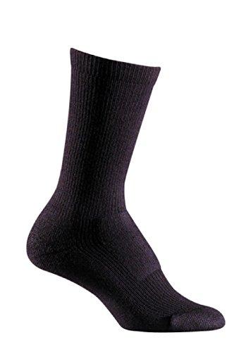FoxRiver Women's Merino Hiker Crew, Black, Medium (Socks Fox River Wool)