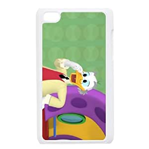 iPod Touch 4 Phone Case White Disney An Adventure In Color Character Ludwig Von Drake WQ5RT7528067