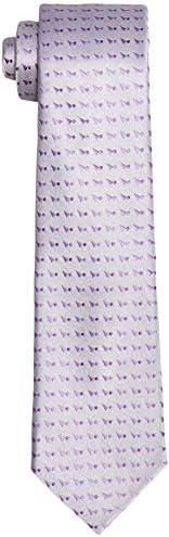 Park Avenue Men's Synthetic Necktie (PZNX18565-G6_Dark Grey_150)