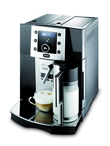 Refurbished DeLonghi ESAM5500B Perfecta Digital Super-Automatic Espresso Machine, Black