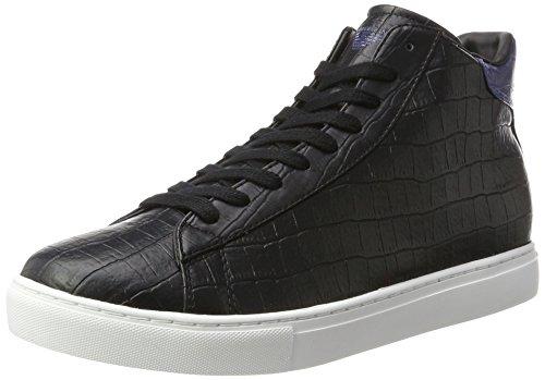 Alto Cut Nero Armani Nero a Uomo Collo High Sneaker qH6x7w