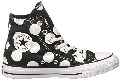 Hi Sneaker white white Alto Nero Ctas Donna A Converse black Collo 5wFU1vEWxq