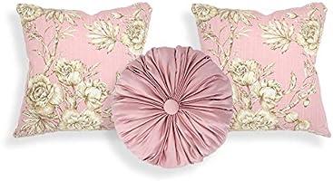 Declea Tris of Pillows Elegance - 2 Cojines Cuadrados y 1 ...