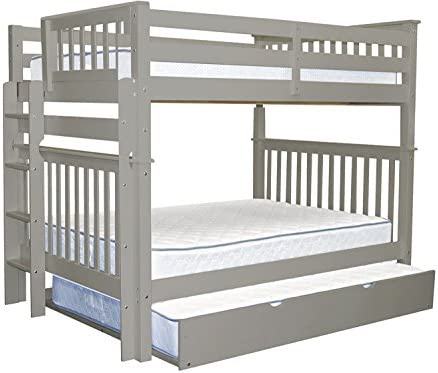 Bedz King Bunk Beds Full over Full Mission Style