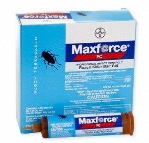 Maxforce FC Roach Control Bait 30 gram Tubes-5 Boxes