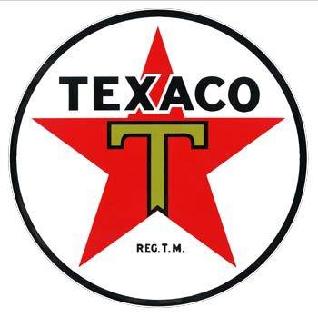 Texaco Star Porcelain Sign