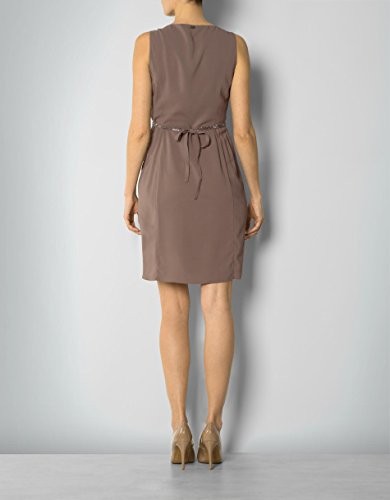 LIU JO Damen Kleid Elasthan Dress Unifarben, Größe: 42, Farbe: Braun