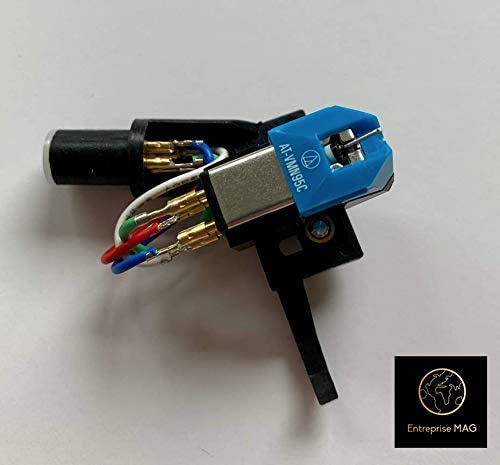 Turntable Headshell & Conical cartridge Denon DP 47F