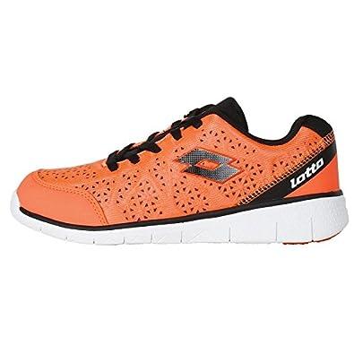 Vitale Orange and Black Running Shoes