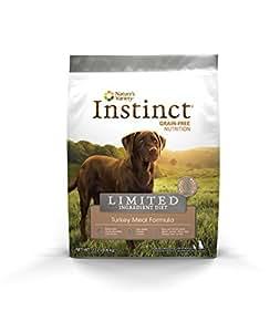 Nature's Variety Instinct Limited Ingredient Diet Grain-Free Turkey Meal Formula Dry Dog Food, 13.2 lb. Bag