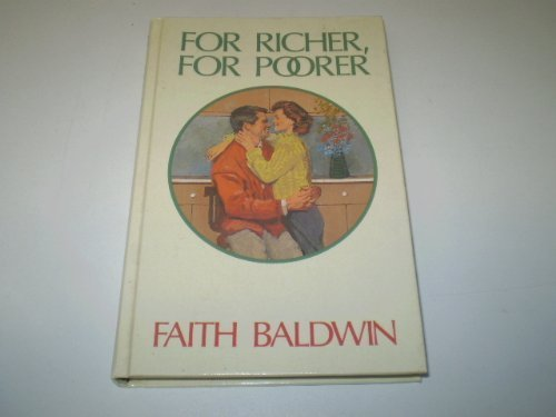 For Richer, for Poorer (Thorndike Press Large Print Americana Series)