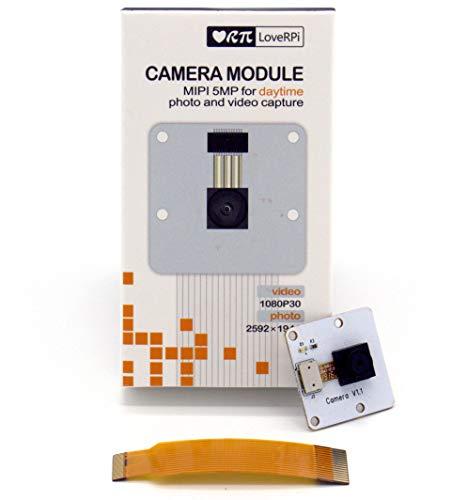 LoveRPi 5MP Camera Module for Raspberry Pi 4/3/2/Zero W