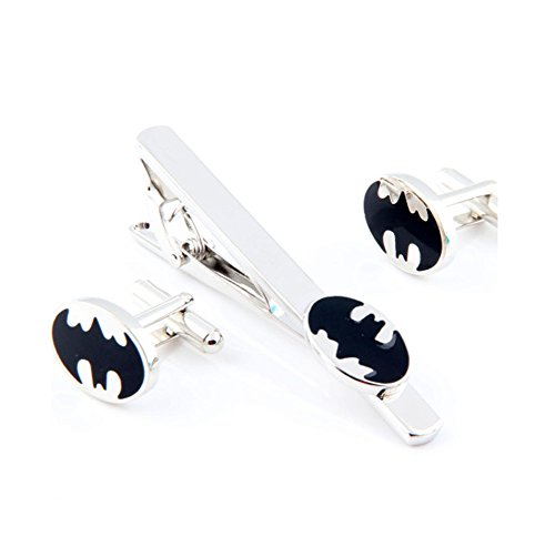 Superhero Cufflinks Rhodium Wedding Business product image