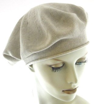 Parkhurst 11.5 Inch Cotton Knit Beret (Sandstone)  Amazon.in  Clothing    Accessories 07d7c06e8a1