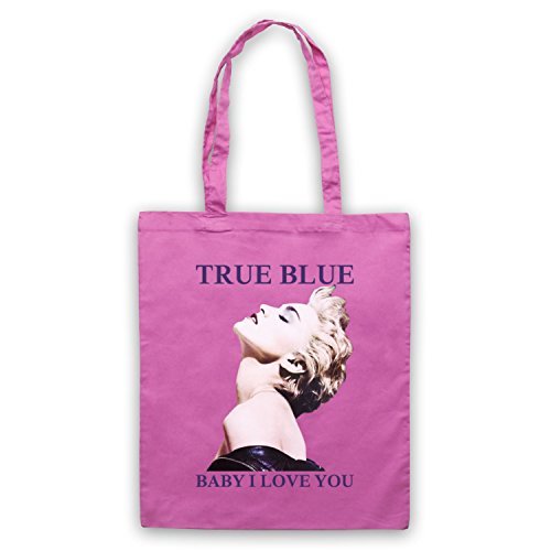 Madonna True Blue Baby I Love You Bolso Rosa