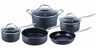 Jamie Oliver By Tefal (T-Fal) Professional Series, Hard Anodised, 5 Piece Set