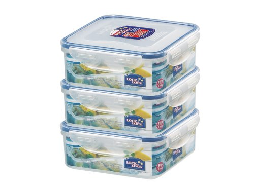 Lock & Lock HPL823O3 fresh storage box, economy pack