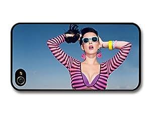 Katy Perry Sunglasses Sky Portrait Roar Popstar Singer case for iPhone 4 4S
