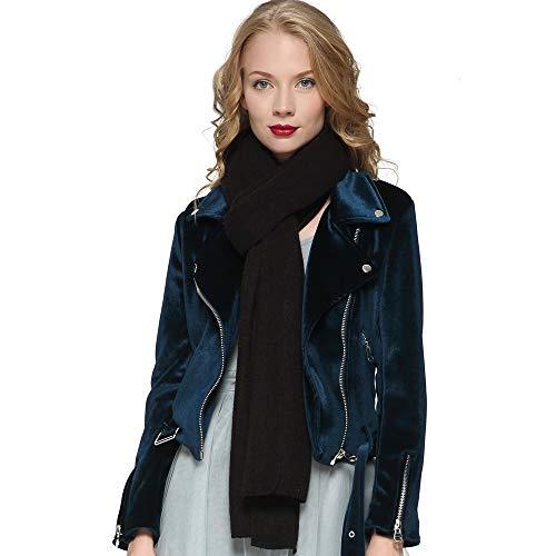 - ZORJAR Women's Men Fashion Long Shawl Plush Knit Winter Warm Large Scarf 86
