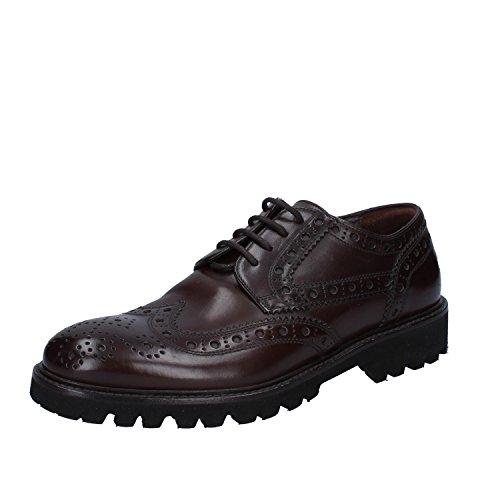 Uomo Scuro Classiche FLIGHT TRIVER Shoe Pelle Oxford Marrone a0HIWqUwW