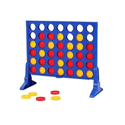 [해외]Yueqi 아동용 교육용 장난감 4 보드 게임 연결 / yueqi 4 in a Line Game Classic 4 Board Games for Kids and Family 4 in a Row Game