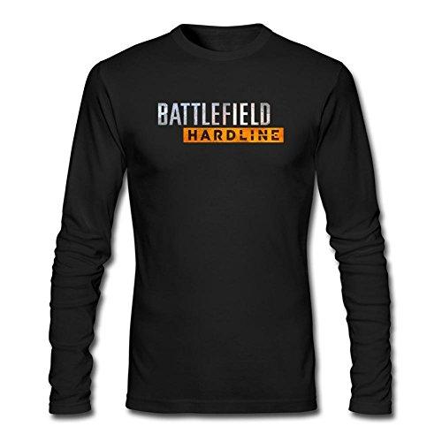 Feixia Men's Battlefield Hardline DIY Cotton Long Sleeve T Shirt