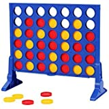 Yueqi Kids Chess Family Toy Board Games Four in a Line 4 in a Row Game