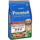 Ração Premier Seleção Natural para Cães Raças Pequenas Frango com Batata Doce - 10,1kg Premier Pet para Todas Pequeno Adulto -