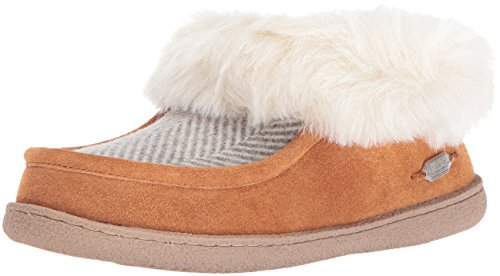 Woolrich Women's Autumn Ridge Slipper, Herringbone Wool/Spice, 9 M US