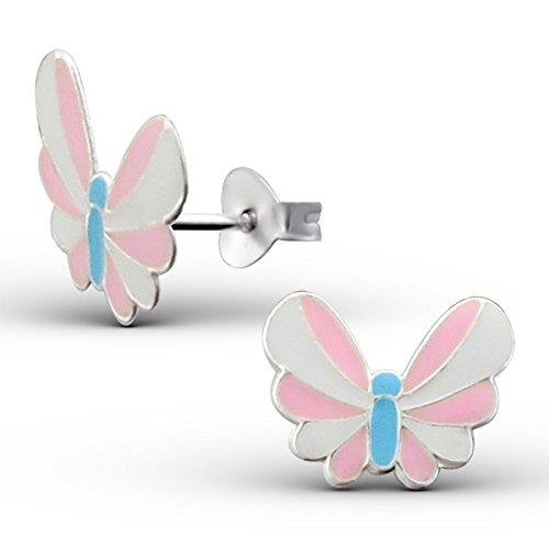 So Chic Bijoux © Boucles d'oreilles Papillon Argent 925