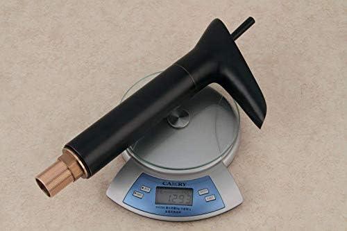 Zxyan 蛇口 立体水栓 バスルームのシンクの蛇口洗面器のミキサータップ真鍮ブラックアンティーク温水と冷水レトロ盆地シンクタップ浴室バーの蛇口 トイレ/キッチン用